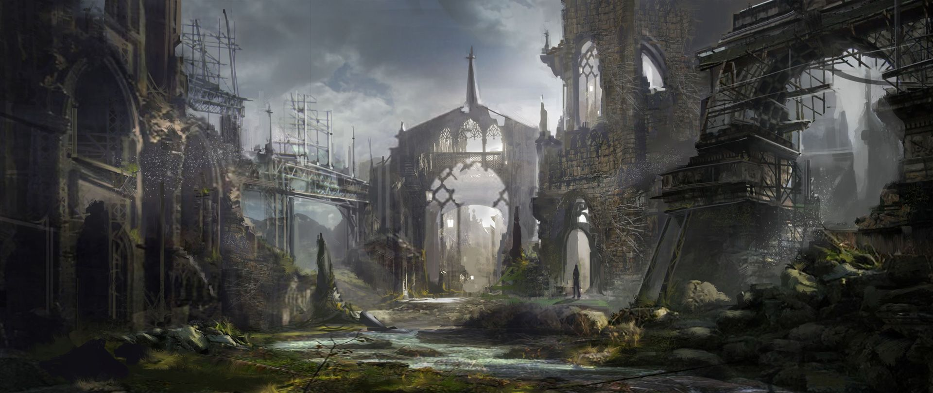 art of city ruins | cathedral-in-keats | Coolvibe ...