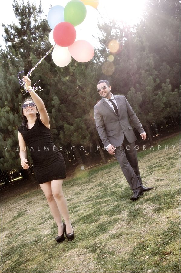 Sesión de Fotos / Preboda / Photoshoot / Engaged Photo Session / Compromiso / Pareja / Casual / Vintage / Fotografía / Vizualméxico. www.vizualmexico.com.mx