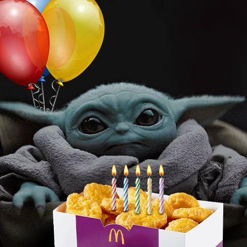 Birthday Baby Yoda Video Funny Happy Birthday Meme Yoda Happy Birthday Star Wars Happy Birthday