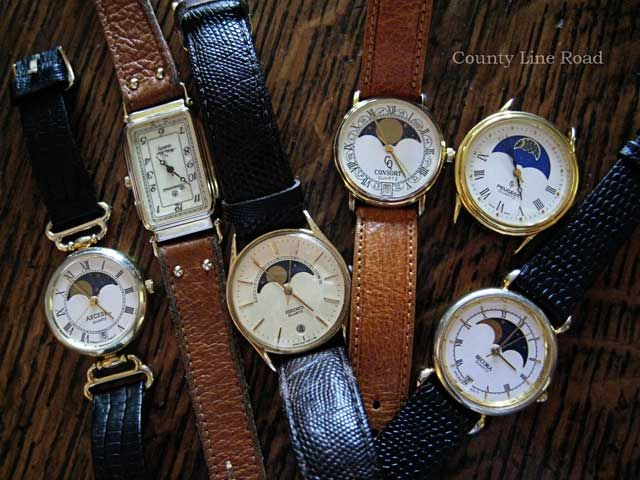 Moon Phase Watches Watches Vintage Watches Timex