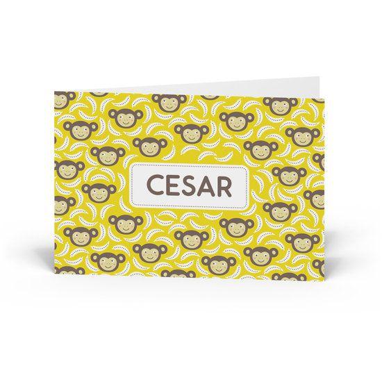 #Geboortekaartje Cesar - Kaartjes en Co