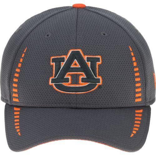 New Era Men's Auburn University Speed 9FORTY Cap (Charcoal ...