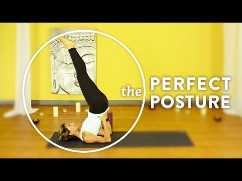 shoulder stand  perfect posture  dana damara yoga
