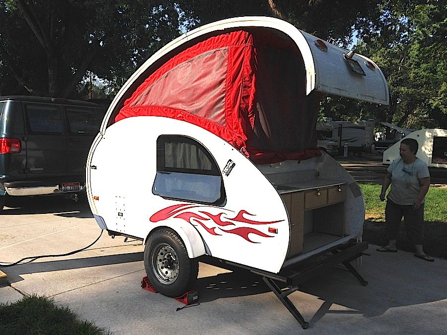 A Liner Lil Demon Teardrop Trailer 2006 From Starling Travel