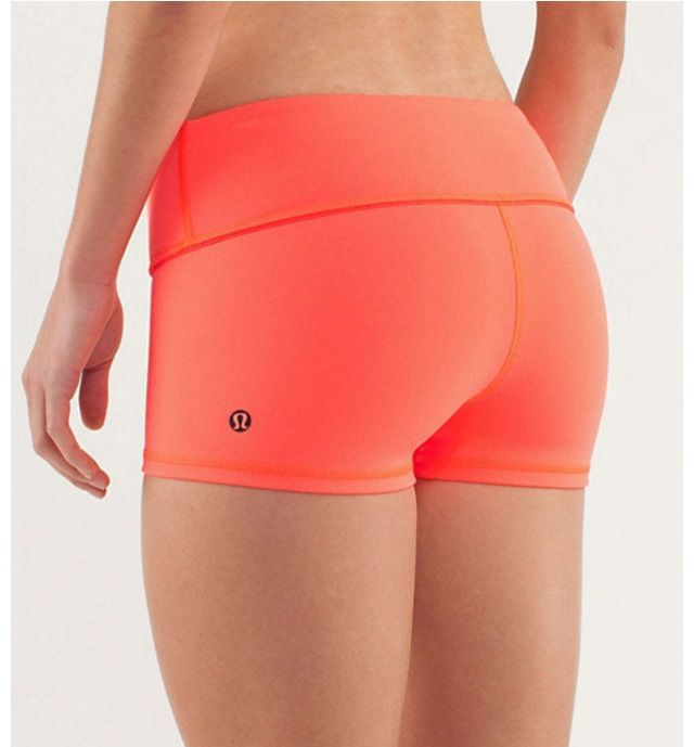 I'm Obsessed With Lulu Lemon Yoga Shorts. They Are The