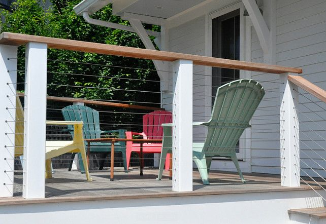 Feeney Cable Rail System Prefabricated Beach House With