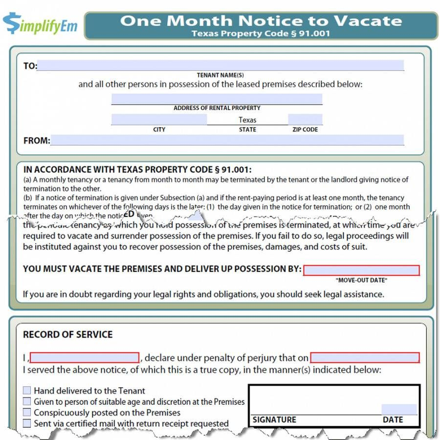 How To Evict A Tenant In Texas   unugtp