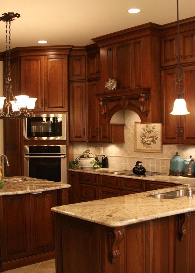 like cabinets countertop and top backsplash not 2