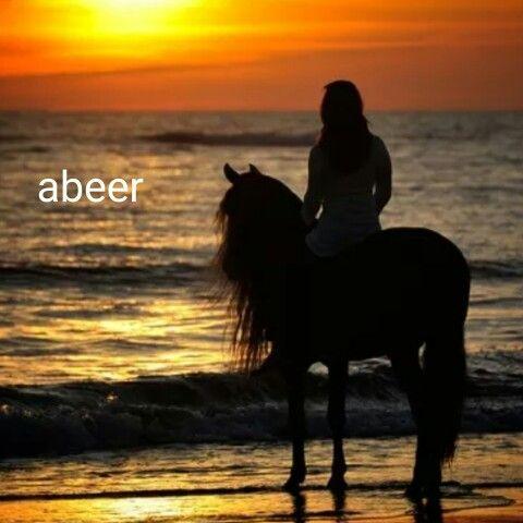 انتابني شعور للوقوف أمام شاطئ البحر سمعت نداء من بعيد كان ذالك النداء صوت أمواج البحر كانت كل موجة تداعب التي قبلها وتخبرها يا تري ه Horses Animals