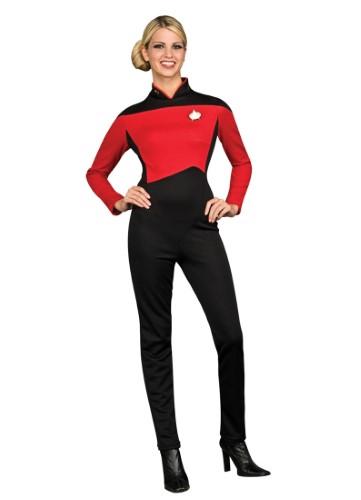 Adult Female Star Trek Command Uniform Rubies 889065 b514c481e9