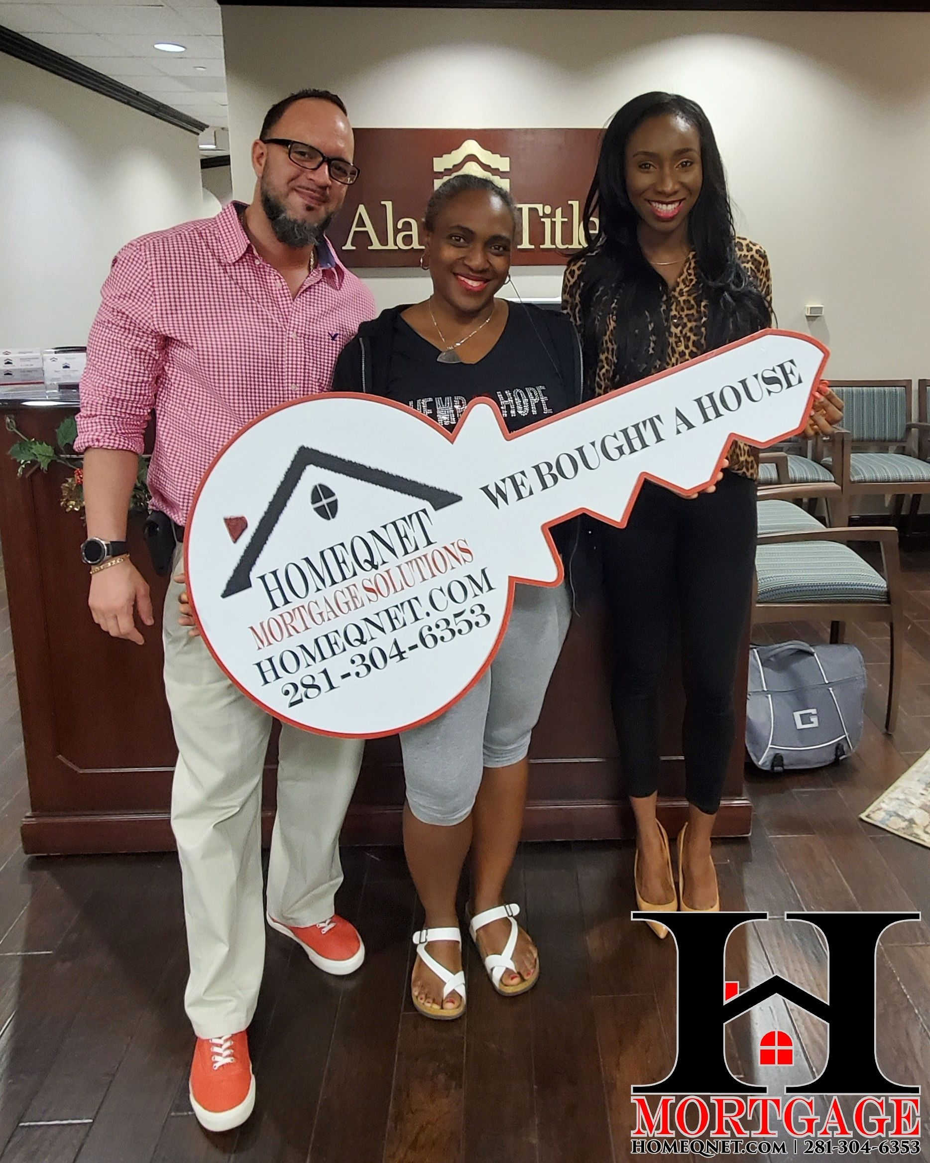 Congratulations to Mrs. Ekpecham on her home purchase