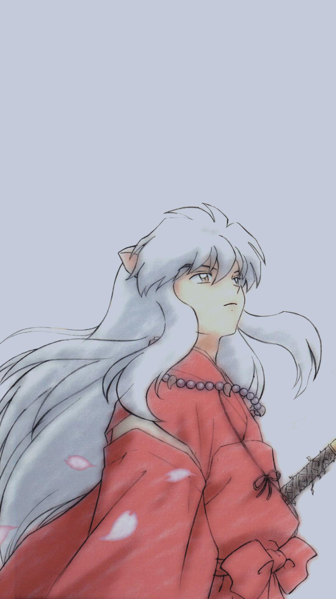 Ka8aros Inuyasha Phone Wallpapers 1080x1920 Requested Anime Inuyasha Fan Art Anime Wallpaper