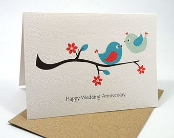 Happy Wedding Anniversary Card Kissing Love Birds On Branch Hwa012 Happy Wedding Anniversary Cards Wedding Anniversary Cards Anniversary Cards