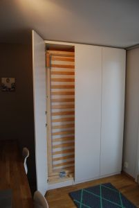 Ikea Pax Murphy Bed Hack Apartment In 2019