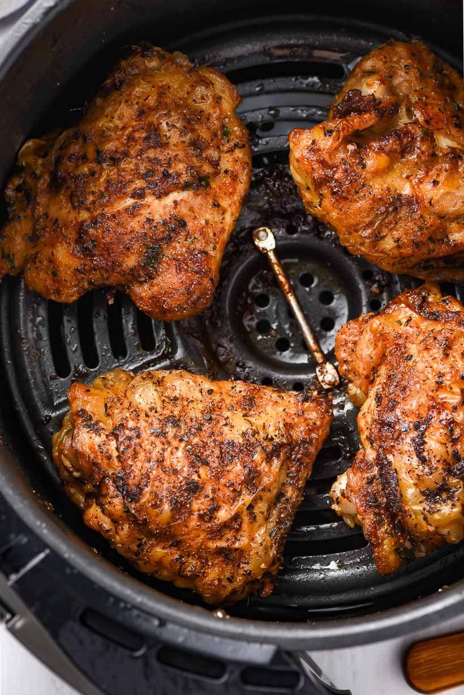 Chicken thighs in air fryer picture in 2020 air fryer