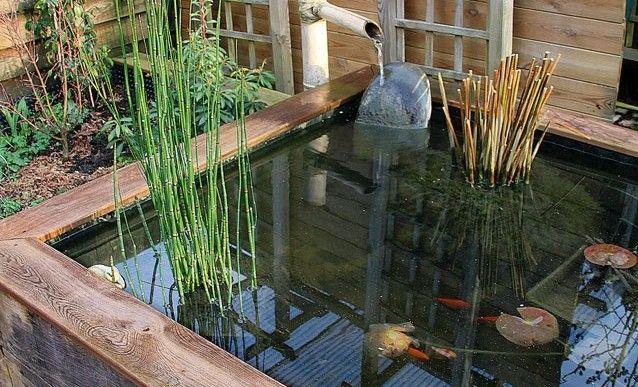 Faire soi-même un bassin hors sol en bois Pond, Garden ponds and