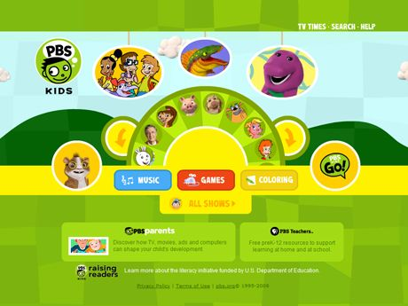Color Palette For Kids Google Search Pbs Kids Pbs Kids Games Preschool Websites