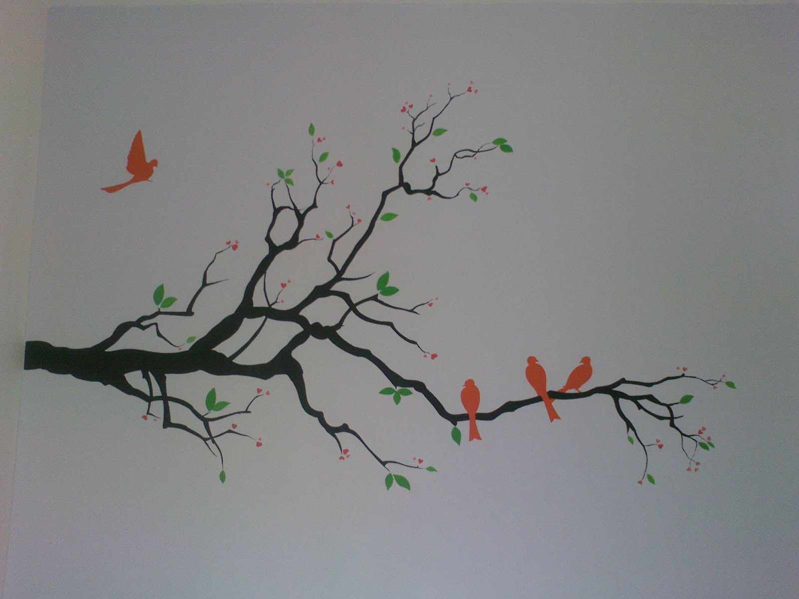 Simple wall mural paintings images for Simple wall mural designs