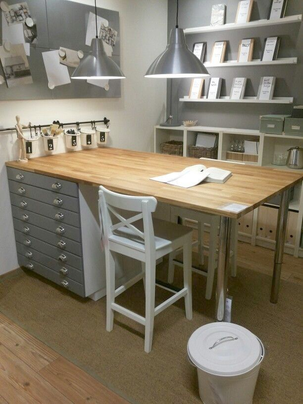 Image Result For Craft Table Ikea Ikea Sewing Rooms Ikea Crafts Craft Room Design