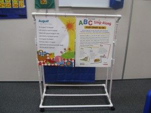 Teacher Flip Chart Stand Made From Pvc Pipes So Easy And Cheap To Make Creative Teaching Kindergarten Organization Classroom Organization
