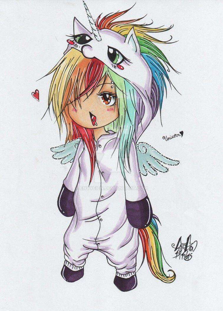 Dessin manga licorne - Coloriage manga difficile ...
