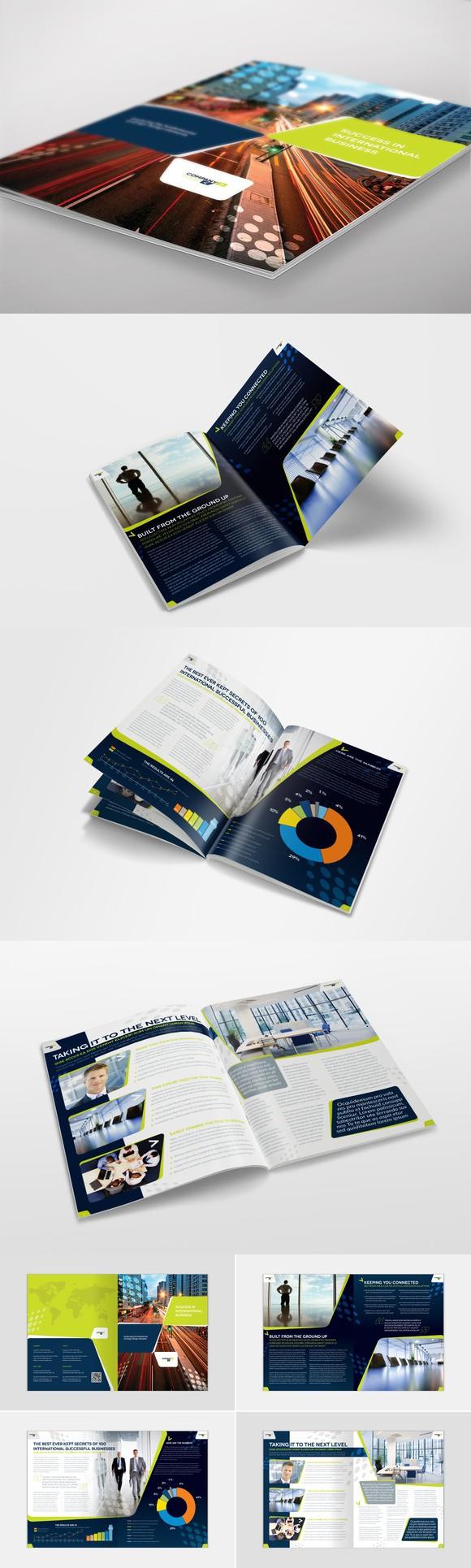 Brochure Template InDesign 05   Brochure Templates   Pinterest