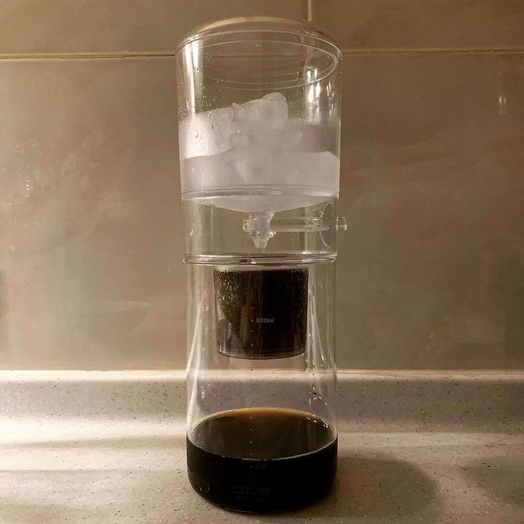Drip by drip, every two seconds, no matter how long it takes... always have the best for you! Just becoz......#coffee