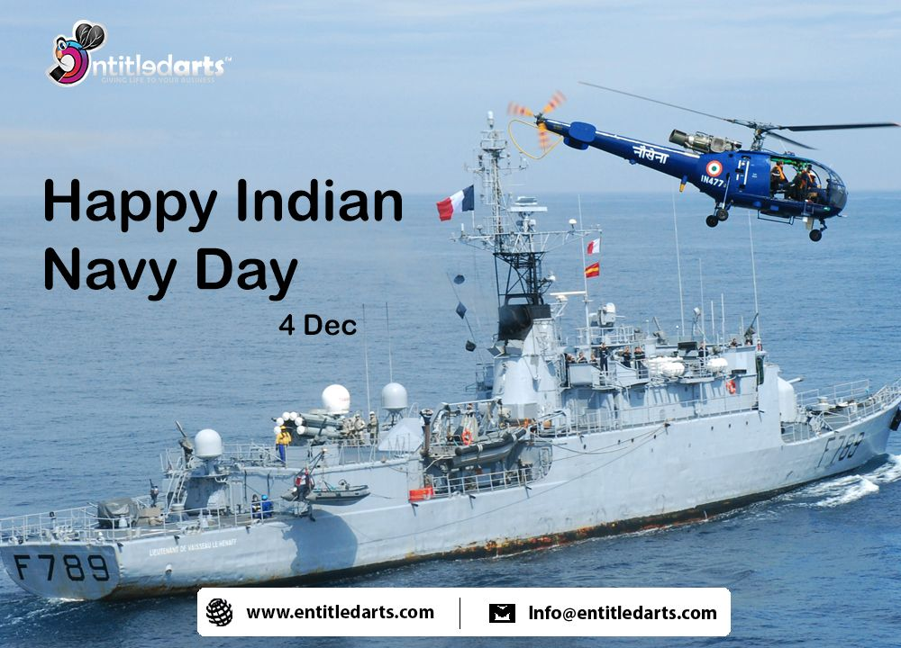Happy Indian Navy Day Entitledarts Indian Navy Day Navy Day Indian Navy
