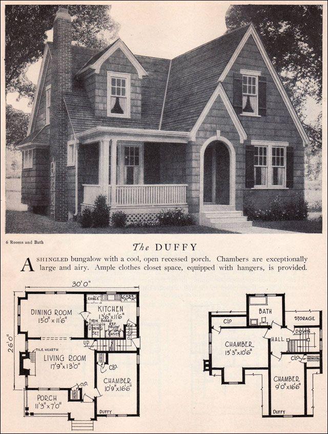Home Builders Catalog 1929 Duffy