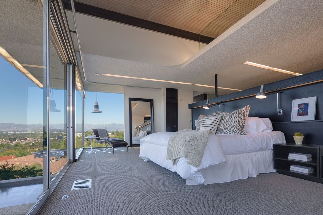 Maison d architecte embl matique en californie en vente chez sotheby s les chambres for Maison architecte design