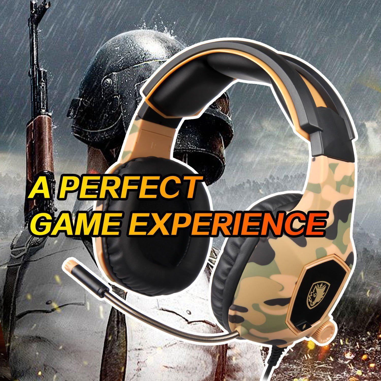 SADES SA818 Xbox One Mic PS4 PC Gaming Headset Gaming Over Ear