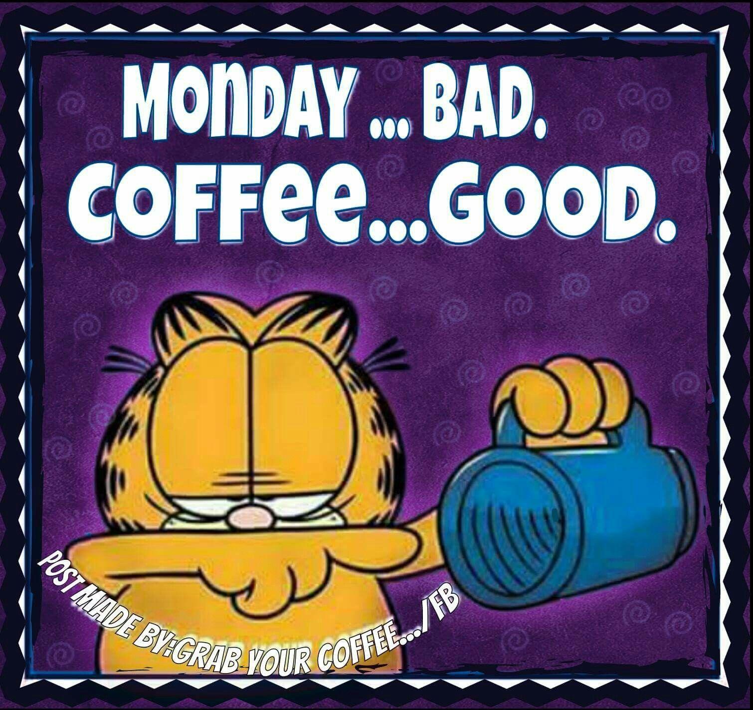 Monday Bad Coffee Good Monday Good Morning Monday Quotes Good Morning Quotes Monday Coffee Bad Coffee Coffee Humor