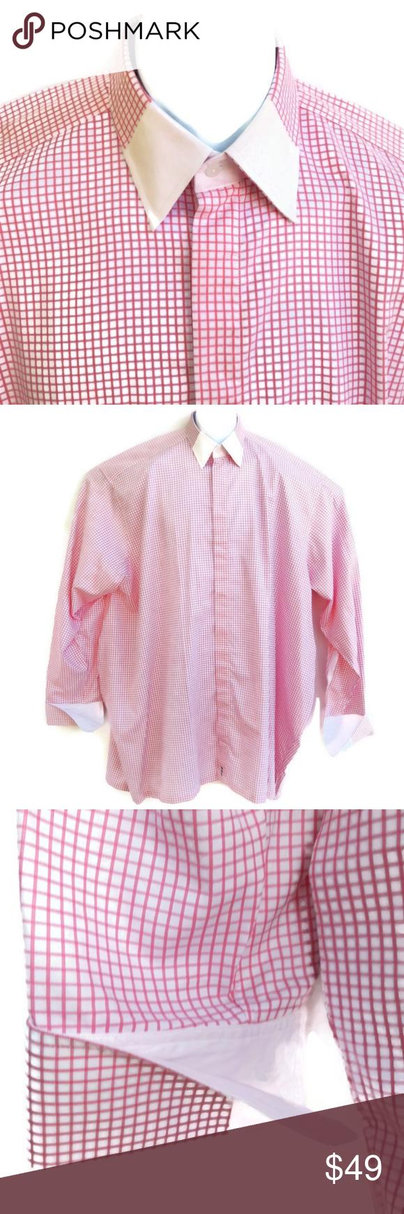 Tailor Made Shirt 5x Dress Button Down French Cuff My Posh Picks