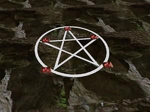 Mod The Sims Invis O Rug With Pentacle Inlay