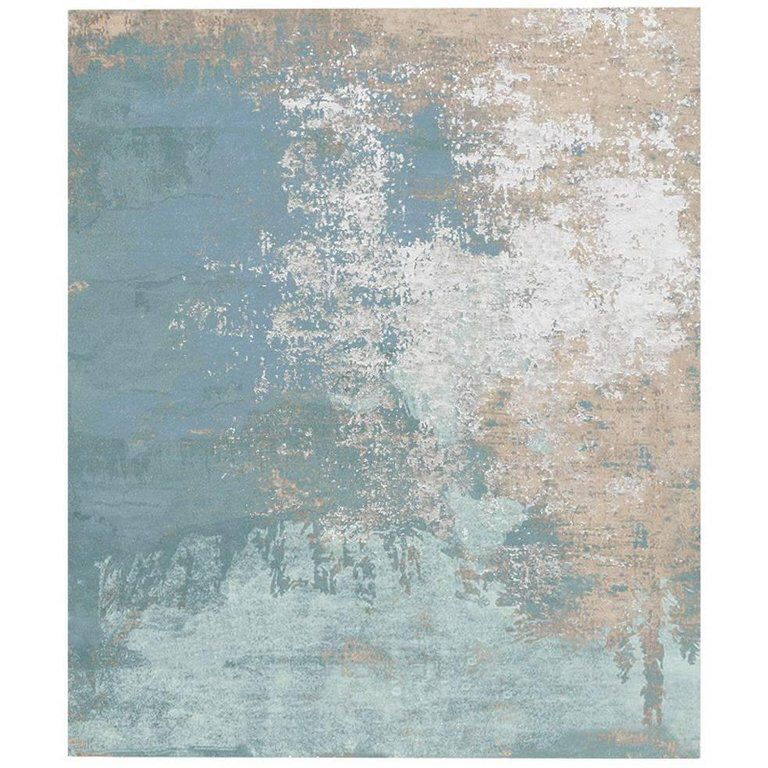 Henzel studio sandreda carpet in hand knotted himalayan wool and silk in 2019 carpets - Alfombras contemporaneas ...