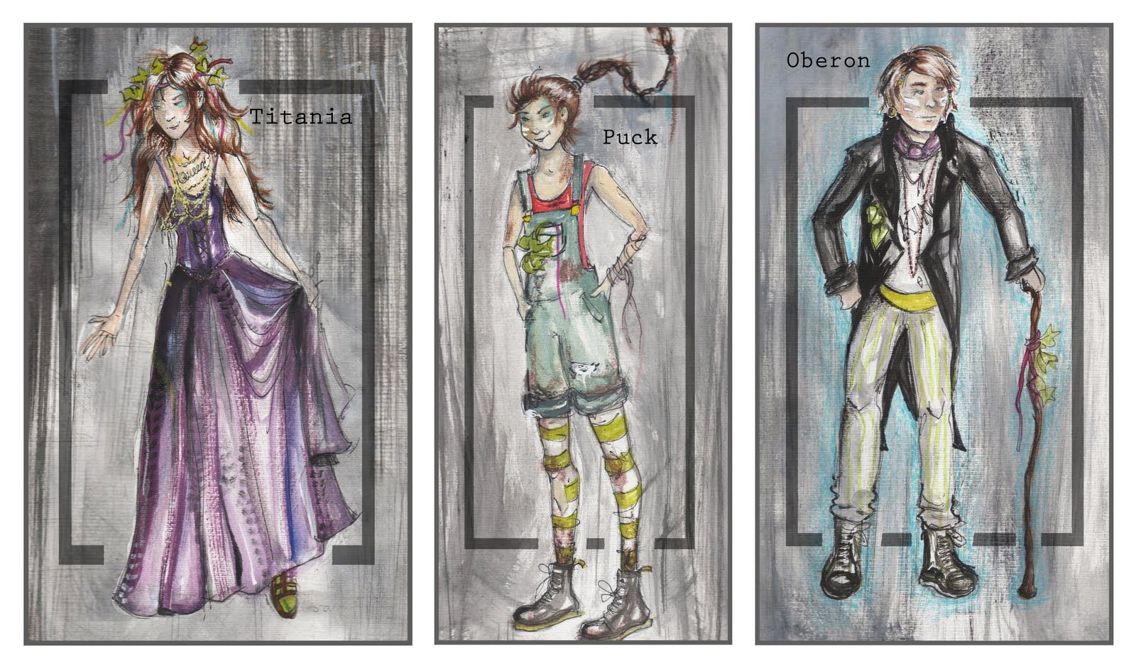 Puck Idea Midsummer Nights Dream Costume Design Midsummer