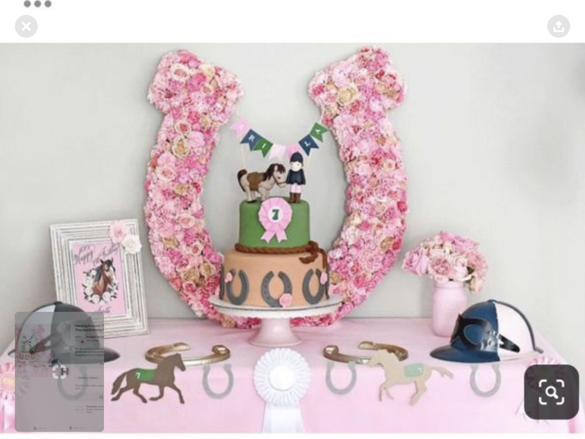 Pin By Krista On Bella Callie Horses Enchanted Forests Horse Birthday Parties Horse Theme Birthday Party Horse Birthday