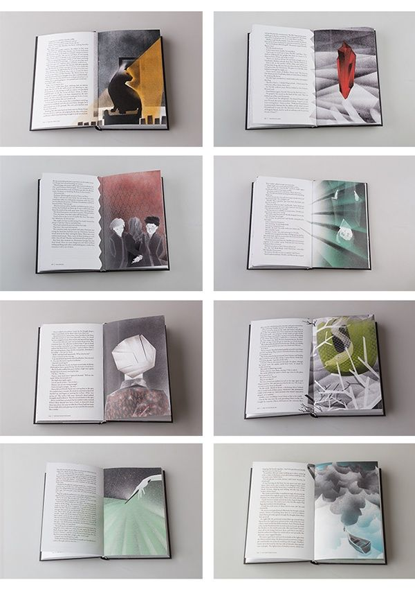 Redesign of the Harry Potter Books