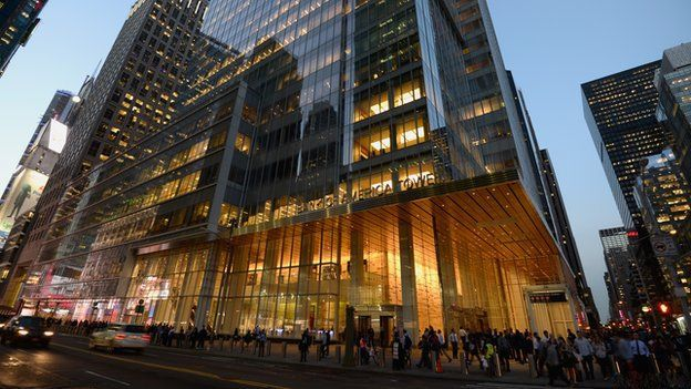 Bank of America Tower New york, Visiter new york, Bank