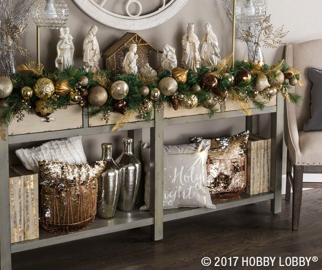 add warmth to your decor this christmas with the elegant and earthy mixed metals collection