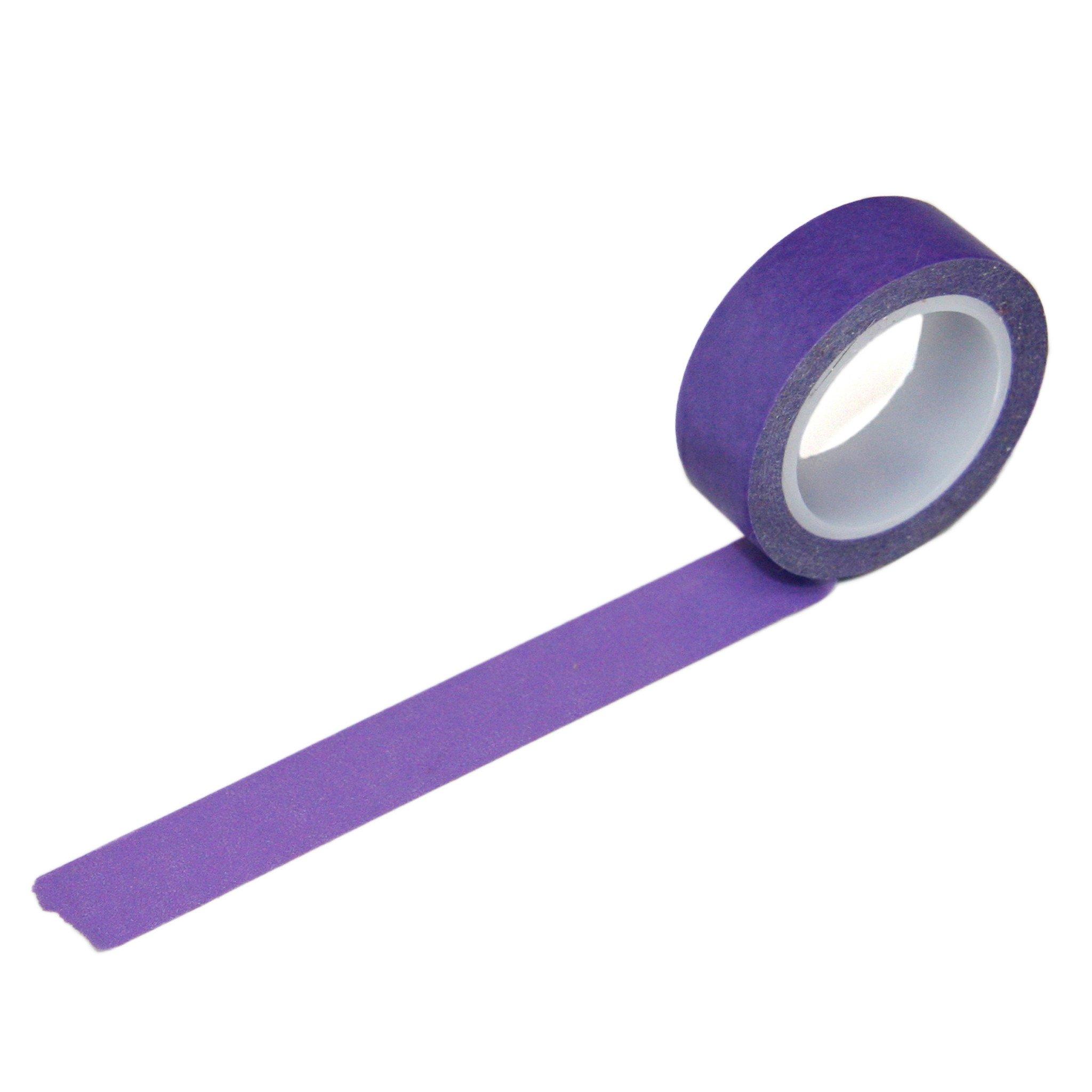 Solid Purple Washi Tape Washi Tape Washi Tape