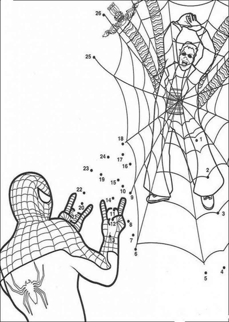 Online Spiderman Coloring Pages | Spiderman coloring, Cool ...