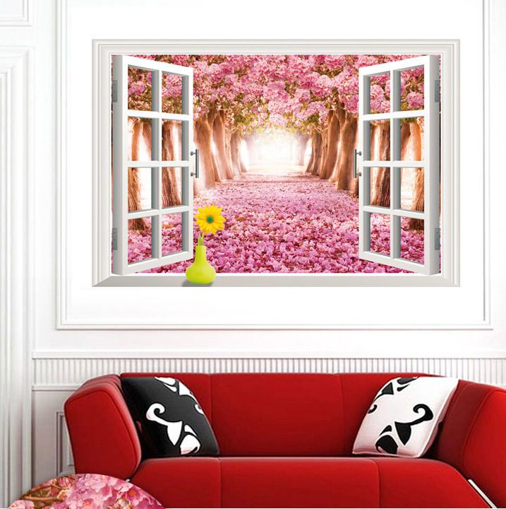 Vinyl Wall Decals For Living Room Wall Clings For Living Room Wall ...