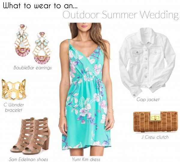 Four Perfect Wedding Guest Outfits For Spring Or Summer