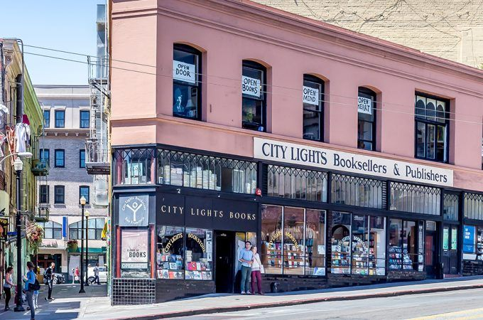 A Comprehensive Map of All the Bookstores in San Francisco