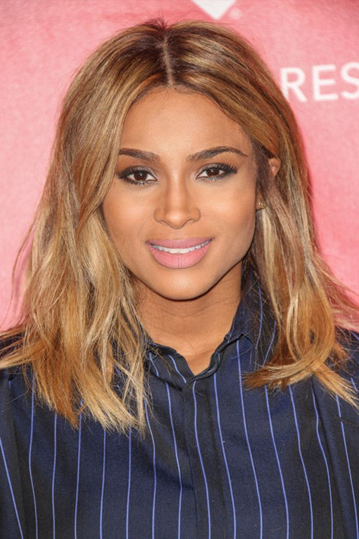The In Between Trend Celeb Bronde Hair Colors Ciara