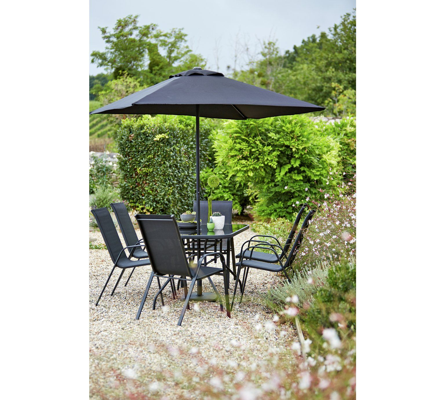 Buy HOME Sicily 6 Seater Patio Set at Argos.co.uk visit Argos  sc 1 st  Pinterest & Buy HOME Sicily 6 Seater Patio Set at Argos.co.uk visit Argos.co.uk ...
