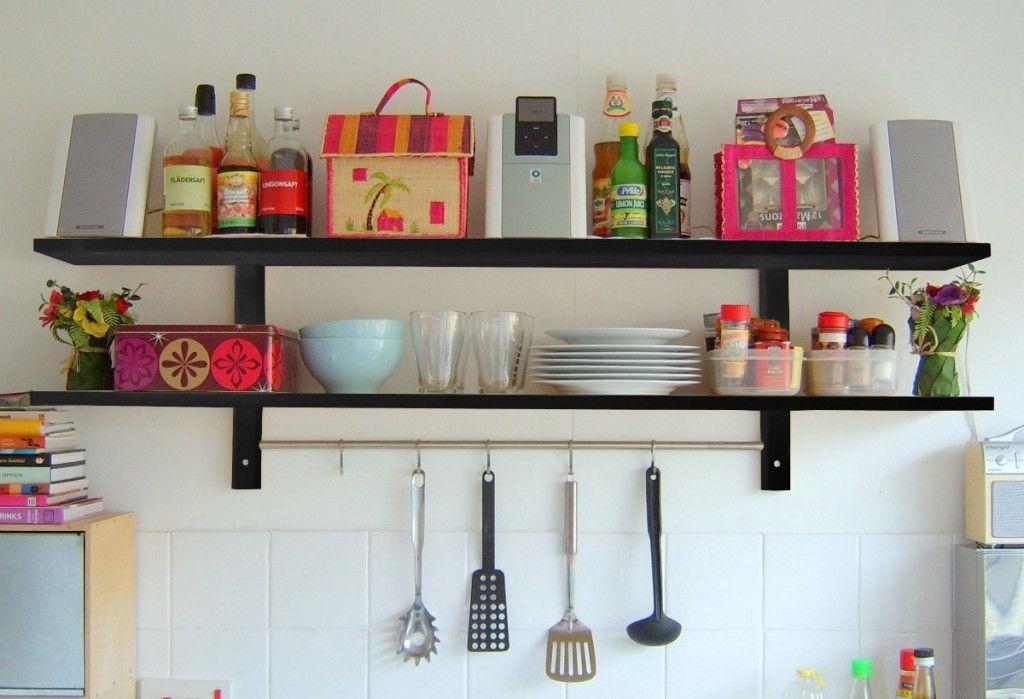 Mensole Per Cucina Ikea.Mensole O Pensili Per La Cucina Belle Cose Per Casa