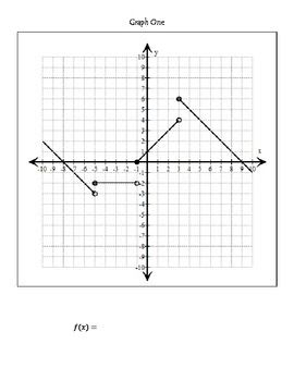 This Is A Fun Activity For Graphing Piecewise Defined Functions