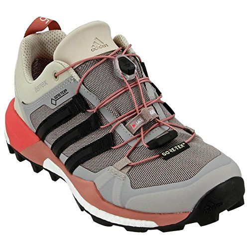 Womens Adidas Terrex Skychaser Gtx Greyraw Pink 7 B You Can Find Out More Details At The Link Of Th Adidas Women Running Shoes For Men Womens Running Shoes